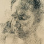 Olivia MacDonald - charcoal portrait
