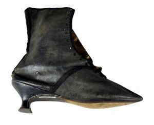 Lady Hamilton's boot