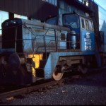 Diesel shunters travelled between Ravenscraig and Dalzell.
