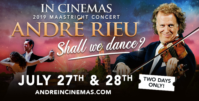 Cinema Live: Andre Rieu 2019 Maastricht Concert: Shall we Dance?