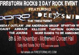 Firestorm Rocks – Weekend Ticket 2019