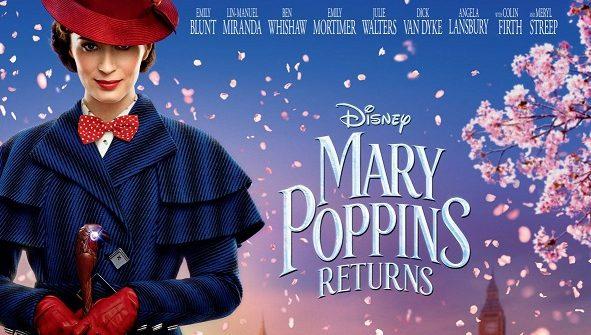 Cinema: Mary Poppins Returns (PG)
