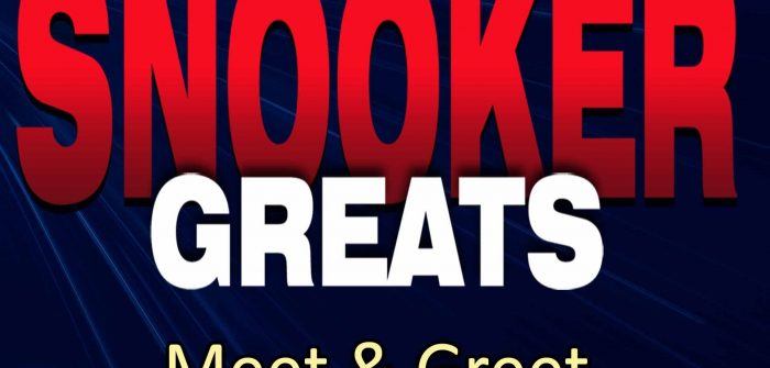 Meet and Greet 'Snooker Greats'