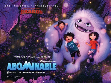 Cinema: Abominable (U)