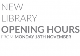 New Library Opening Hours