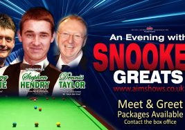 Meet & Greet – 'Snooker Greats'
