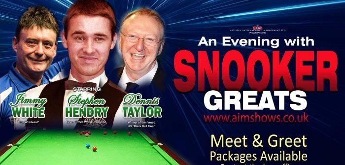 Meet & Greet – 'Snooker Greats'